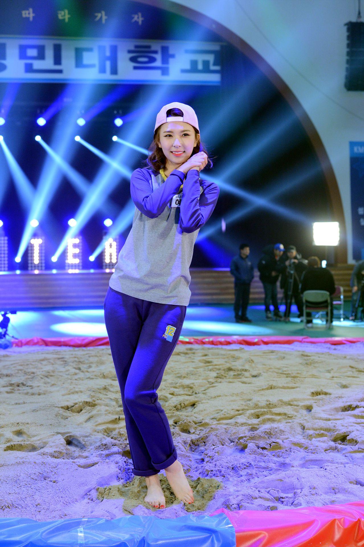 Nine Muses HyeMi @ TV Show 'Let's Go Dream Team'