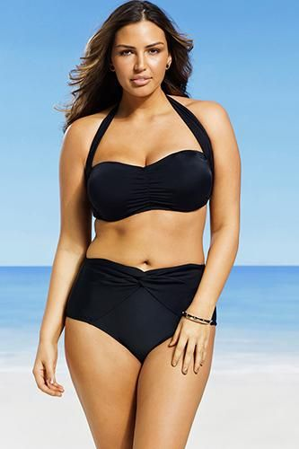 25bfbffe8f Plus Size Swimwear - Curvy Swimsuit Models | Shopping List | Bikinis ...
