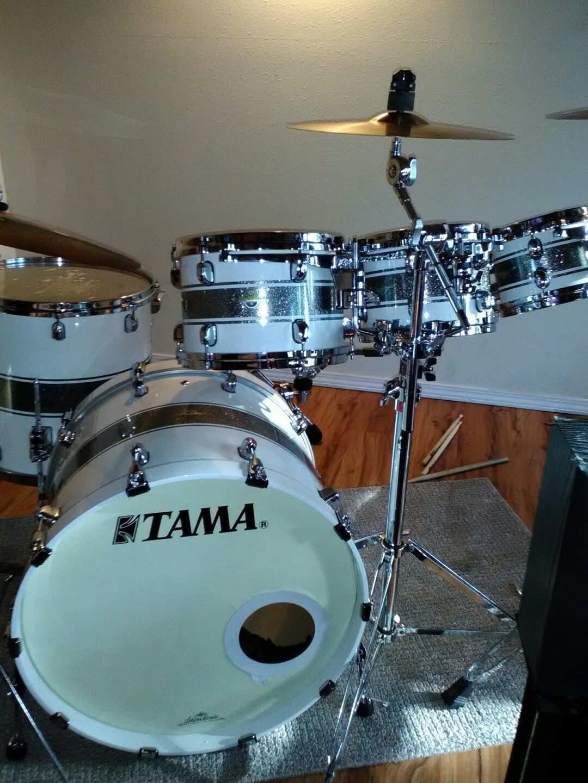 how to set up a tama drum set