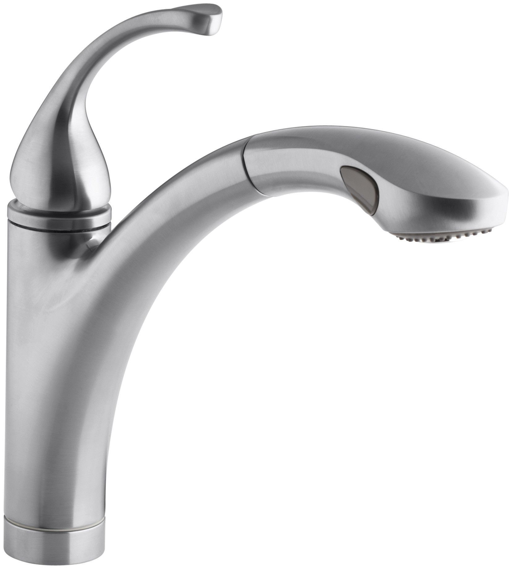 """Forté Single-Hole or 3-Hole Kitchen Sink Faucet with 10-1/8"""" Pullout Spray Spout"""