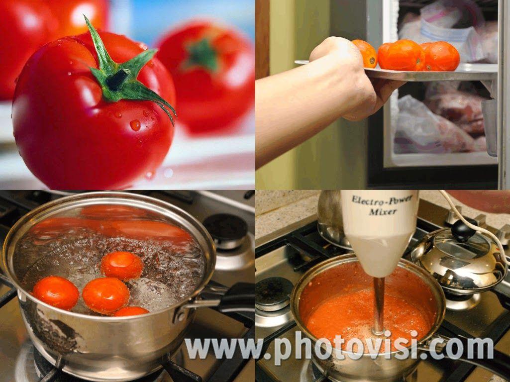 إليك سيدتي 3 طرق لتجميد الطماطم بطريقة سهلة جدا Desserts Frozen Chocolate Fondue