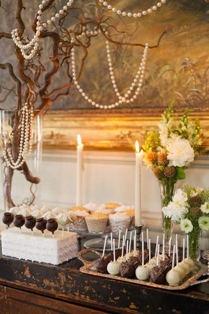 9 fotos inspiradoras sobre mesas de dulces para bodas - Mesa de dulces para boda ...