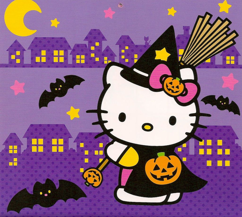 50 Hello Kitty Wallpaper And Backgrounds Hello Kitty Backgrounds Hello Kitty Halloween Hello Kitty Halloween Wallpaper