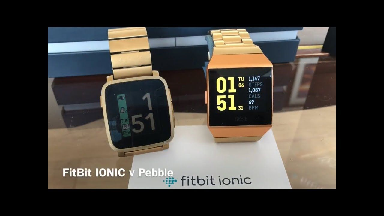 FitBit IONIC v Pebble A Good Replacement? Fitbit, Smart