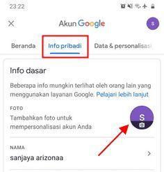 cara delete foto profil akun google