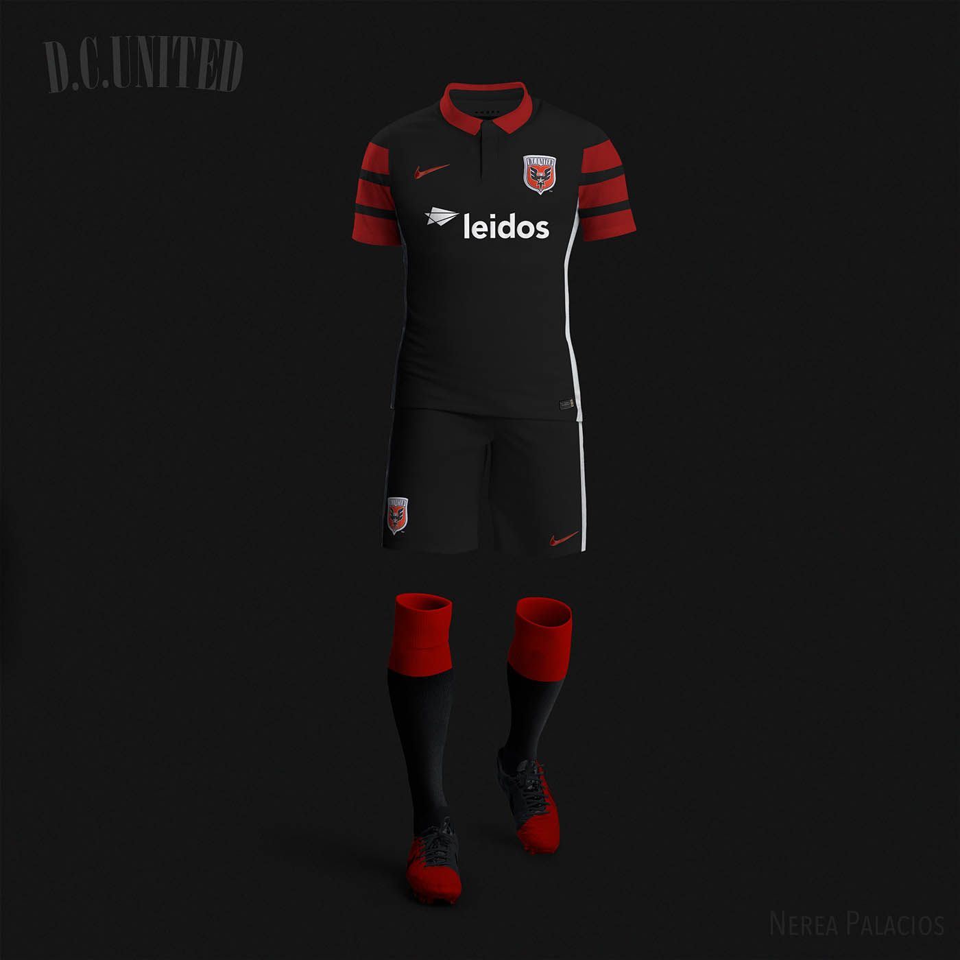 Nike mls concept kits by nerea palacios dc united the for P kitchen dc united