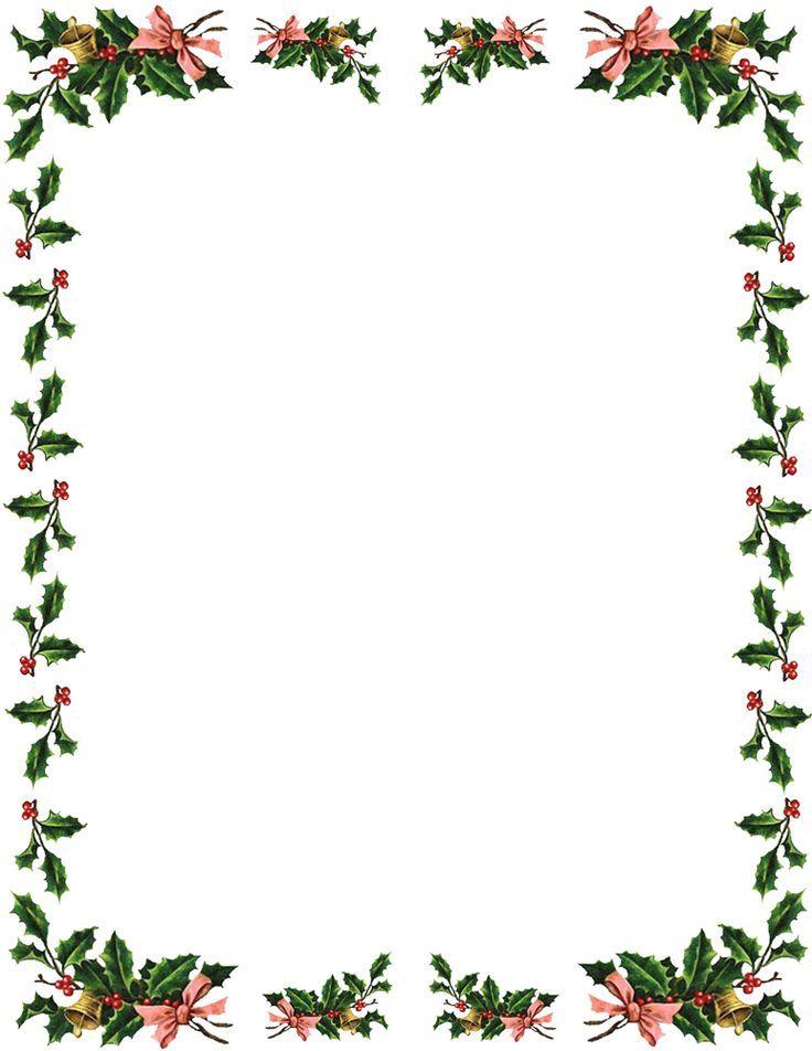free christmas clip art - Google Search WAWI Christmas borders