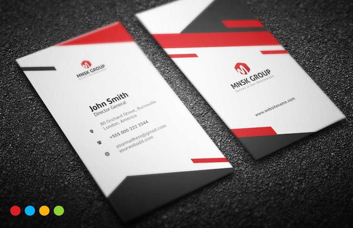 Business card template ai eps business card templates pinterest business card template ai eps wajeb Image collections