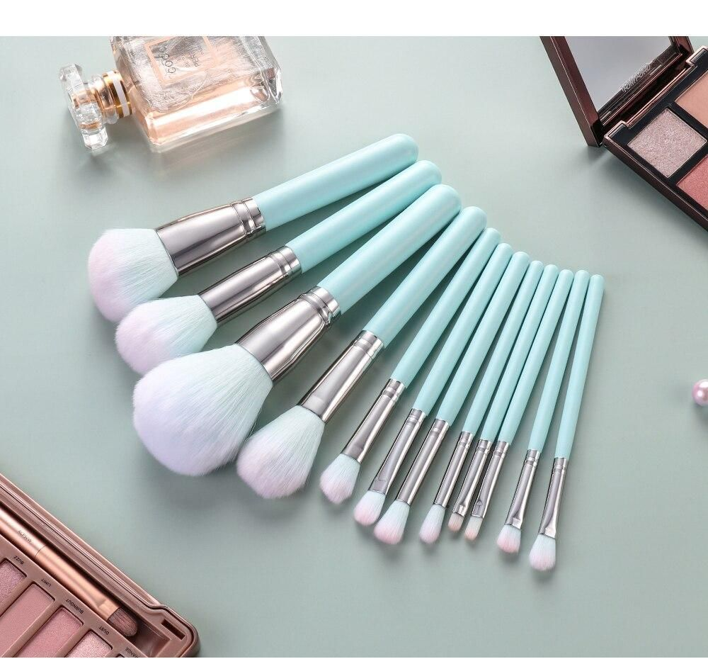 Makeup Brushes Set For Foundation Powder Blush Eyeshadow