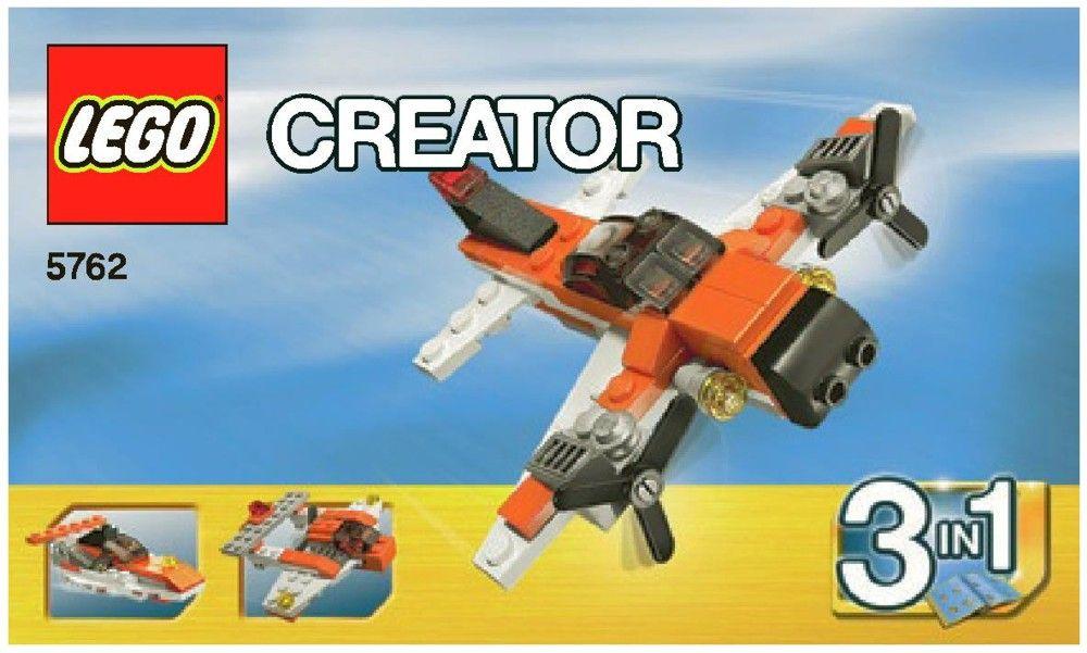 Creator Mini Plane Lego 5762 Art Reference Pinterest Lego