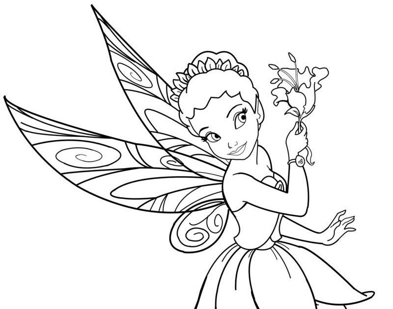 Fairy Coloring Sheets Disney Characters Fairies Iridessa Free Printable Fairy Coloring Pa Unicorn Coloring Pages Fairy Coloring Pages Princess Coloring Pages