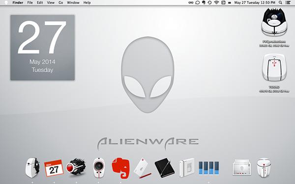 Alienware Desktop by FVC productions, via Behance