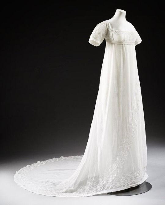 Wedding Dress | c.1807