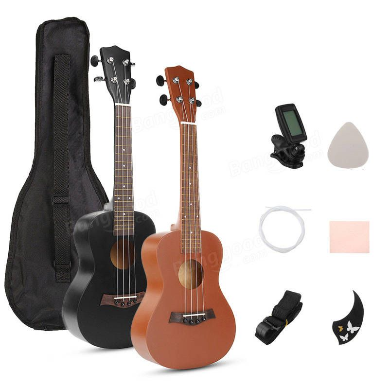Stringed Instruments Zebra 21 15 Frets Mahogany Concert Ukulele Uke 4 Strings Rosewood Fingerboard Guitarra Guitar For Stringed Musical Instruments Fine Workmanship Sports & Entertainment