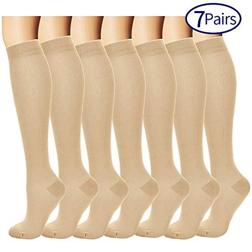 91aebf8ed8b 7 Pairs Compression Socks For Women and Men – Best Medical