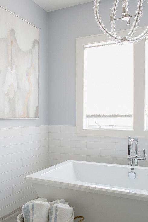 Abstract Art Over Bathtub Small Bathroom Renovations Bathtub