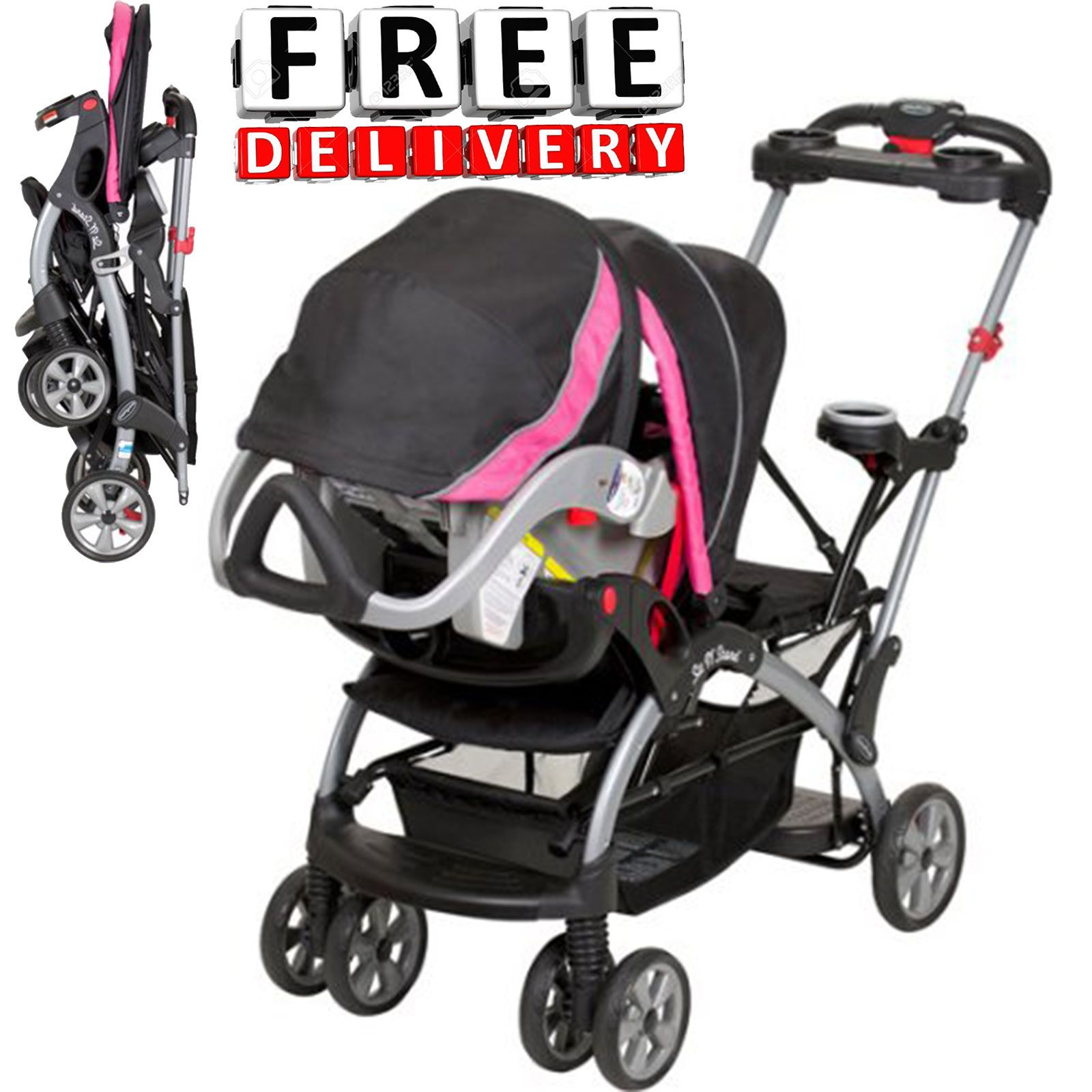 Baby Trend Sit N Stand Ultra Single Stroller Infant
