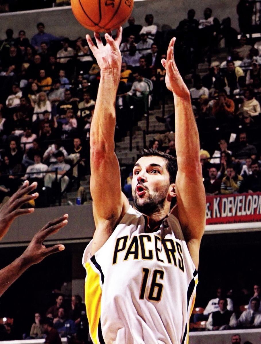 Peja Stojakovic as a Pacer Rare NBA s Pinterest