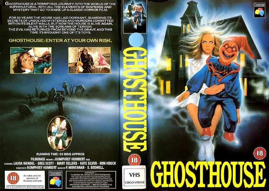 ghosthouse - vhs   Viva la VHS in 2019   Horror, Movie