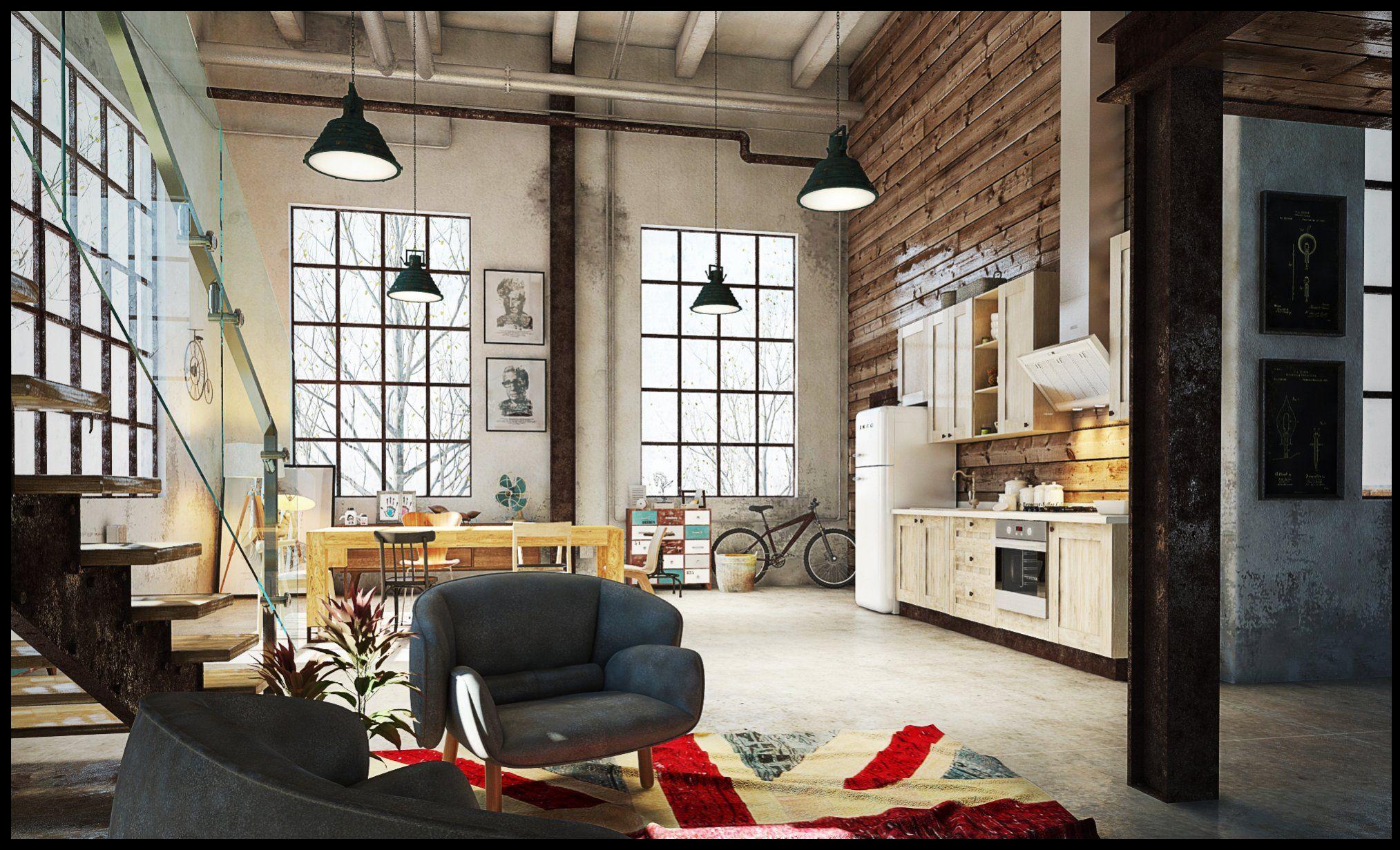 Fenster Loft loft challenge render posted by alovera on evermotion challenge