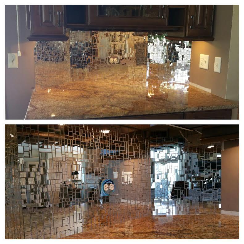 Silver Mirror Jumbled Mix Two Pounds Mosaic Tiles Mosaic Tiles