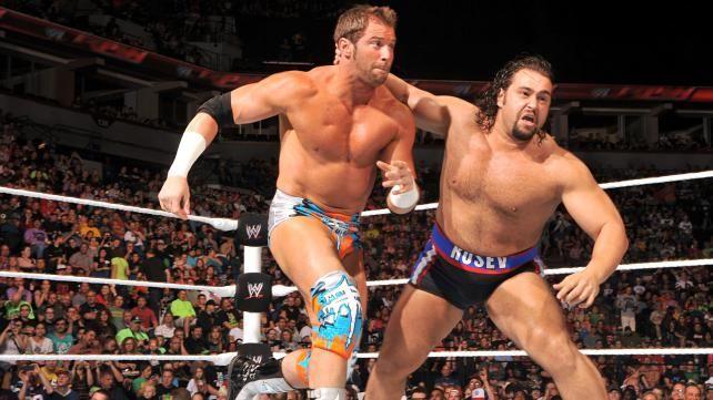 Raw 6/9/14: Zack Ryder vs. Rusev