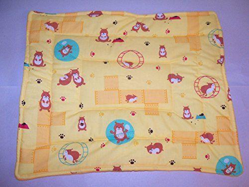 "Cute Hamster Fleece/Cotton Guinea Pig Lap Pad Bed Rabbit Ferret Hedgehog Rat 20"" x 16'' Guinea Pig Paradise http://www.amazon.com/dp/B00Y75YCMG/ref=cm_sw_r_pi_dp_o5Jyvb1EQM51X"