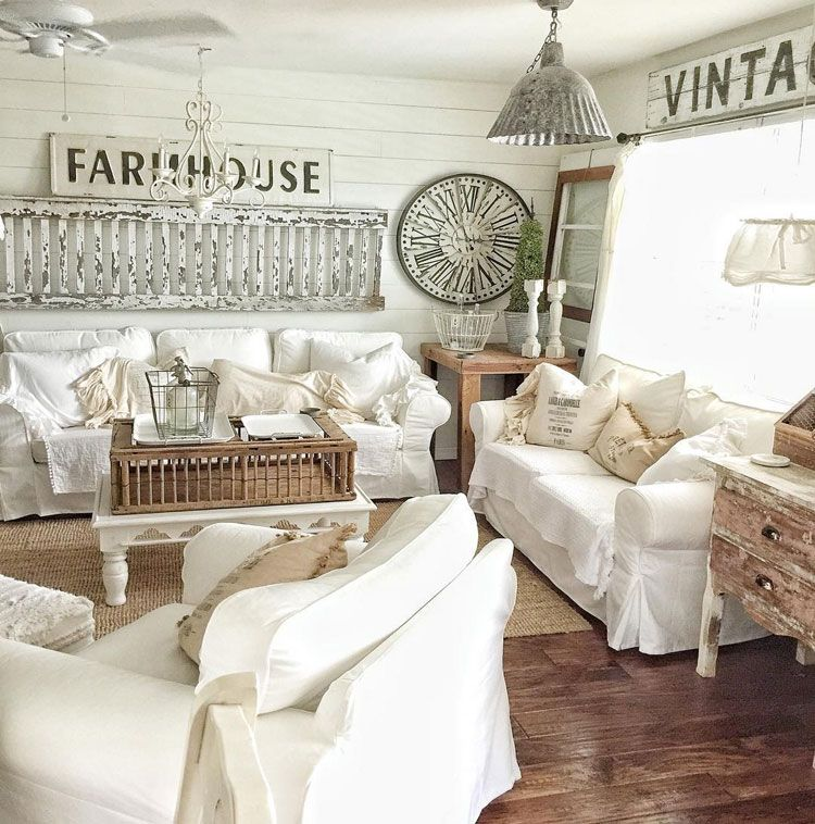 Home Ideas Review In 2020 Farm House Living Room French Country Living Room Cottage Style Sofa
