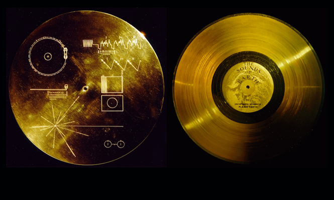 The Gold Record That N A S A Launched Into Space In 1977 Is Being Released On Vinyl Voyager Golden Record Carl Sagan Records