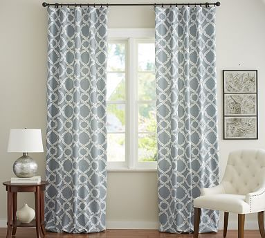 Kendra Trellis Curtain Curtains Custom Drapes Drapes