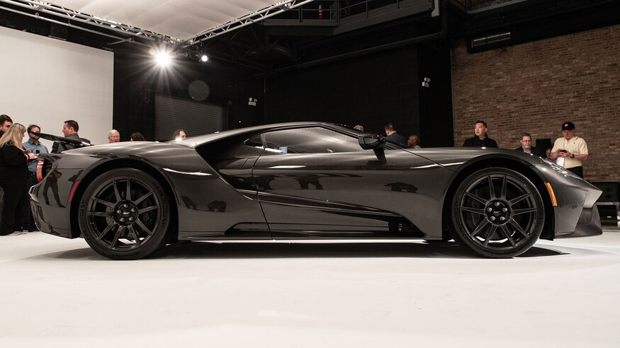 2020 Ford GT Liquid Carbon Reveal at the Chicago Auto Show