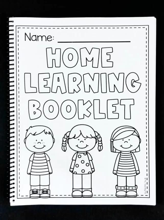 First Grade Home Learning Booklet