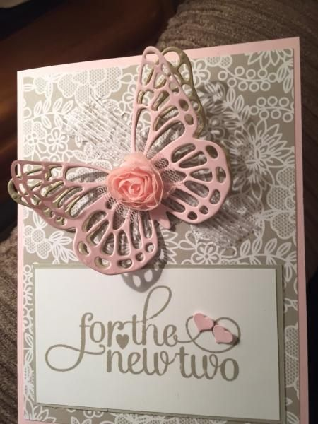 For the new two wedding card by Karen Jo - Cards and Paper Crafts at Splitcoaststampers