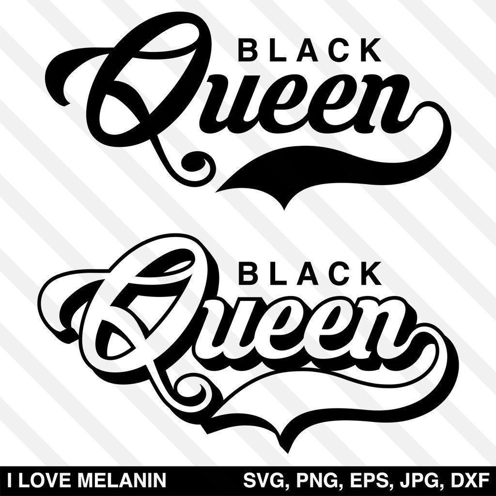 Black Queen SVG Black girl cartoon, Lettering, Black queen