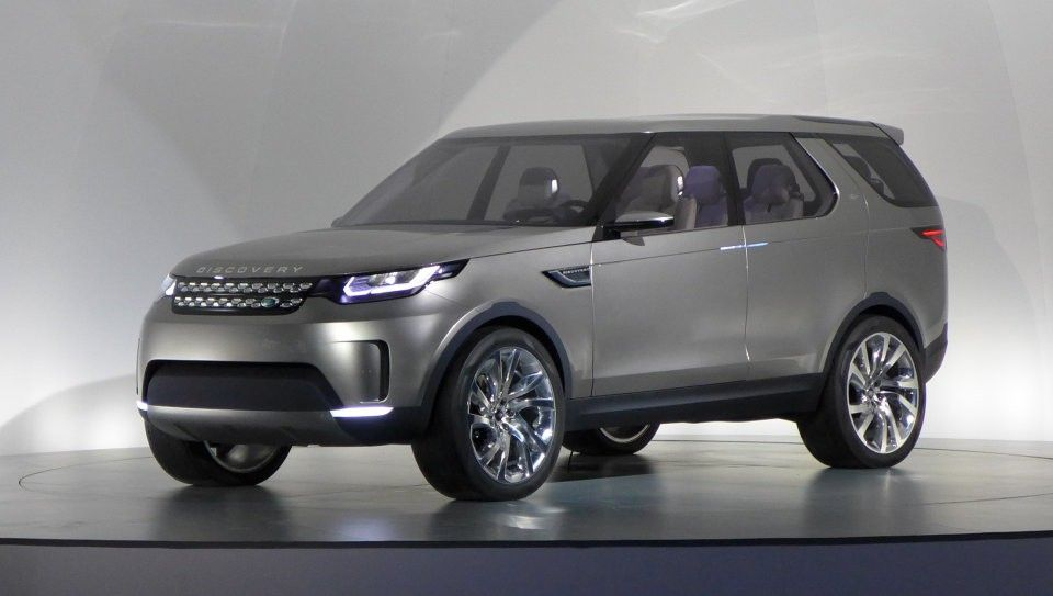 2014 Land Rover Discovery Vision Concept 2016 New Cars Of The Year