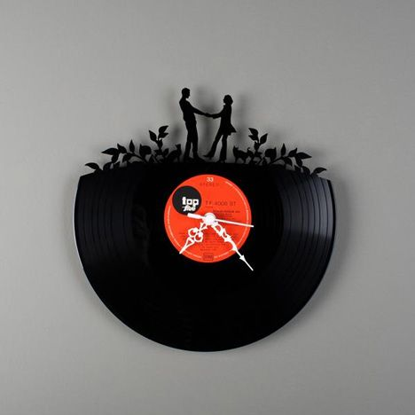 Beautiful Vinyl Wall Clocks, How Neat Are These Wall Clocks Made Out Of Recycled  Vinyl Records, Made By Pavel Sidorenko