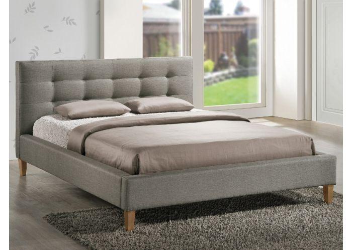 lit capitonn tissu design vanito 160x200 cm gris tapisserie pinterest lit capitonn lit. Black Bedroom Furniture Sets. Home Design Ideas