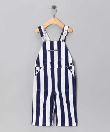a0cf4d6d7 Game Bibs Navy   White Penn State Overalls - Infant   Toddler by ...