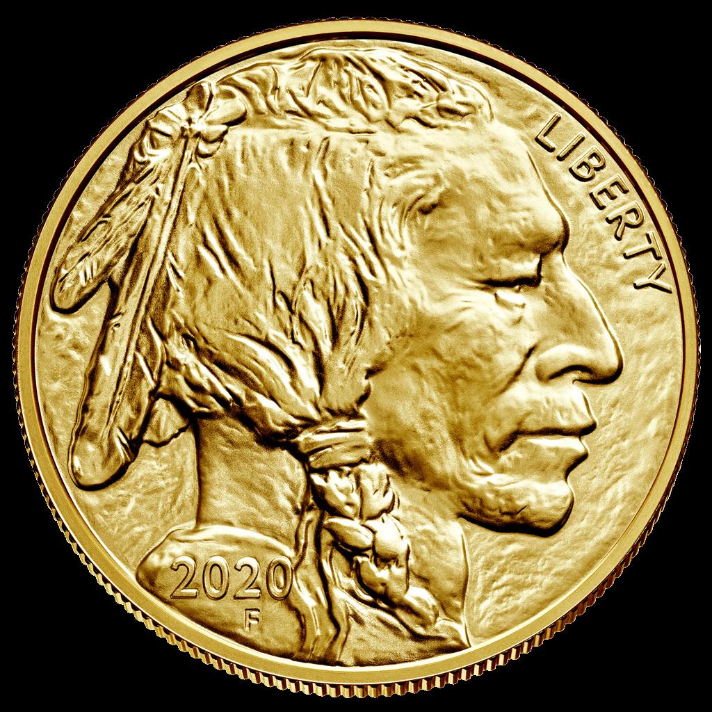 American Gold Buffalo 1 Oz Anlagem 252 Nze 2020