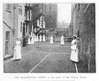 history badminton