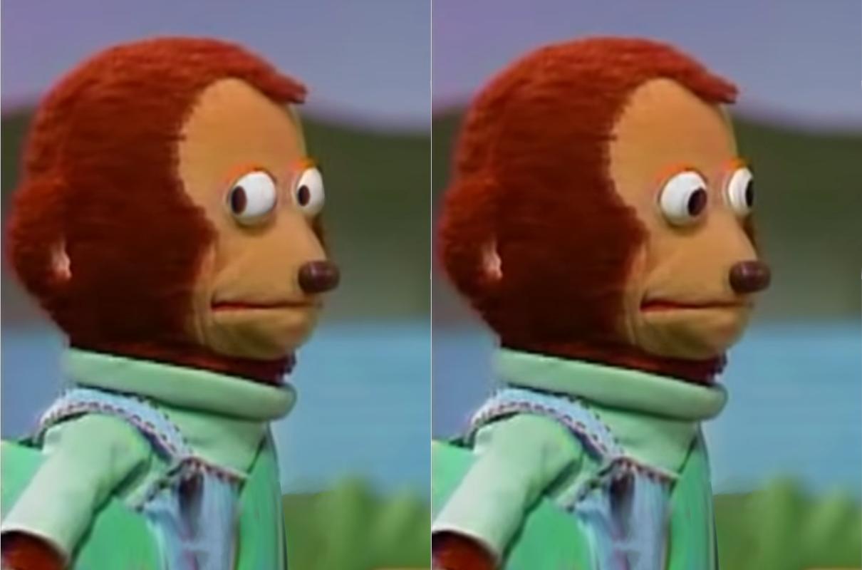 Monkey looking away template [HD] Monkey Puppet Meme