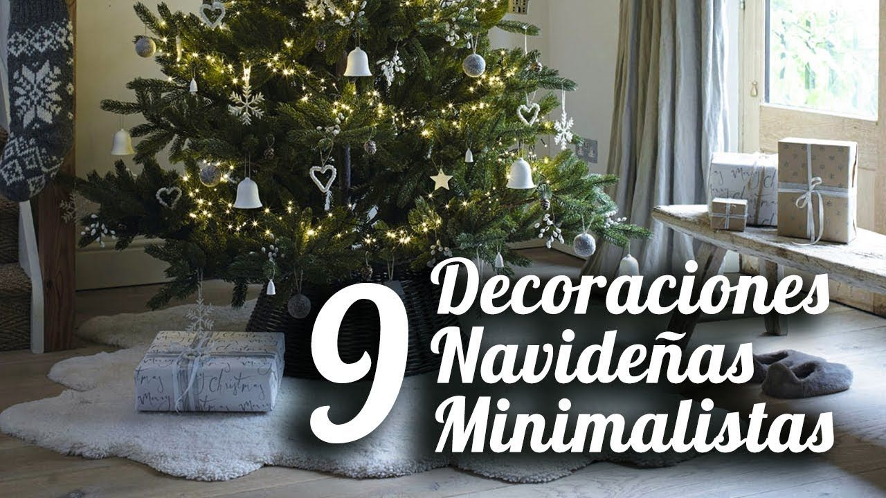 Como decorar tu casa en navidad estilo minimalista ideas de