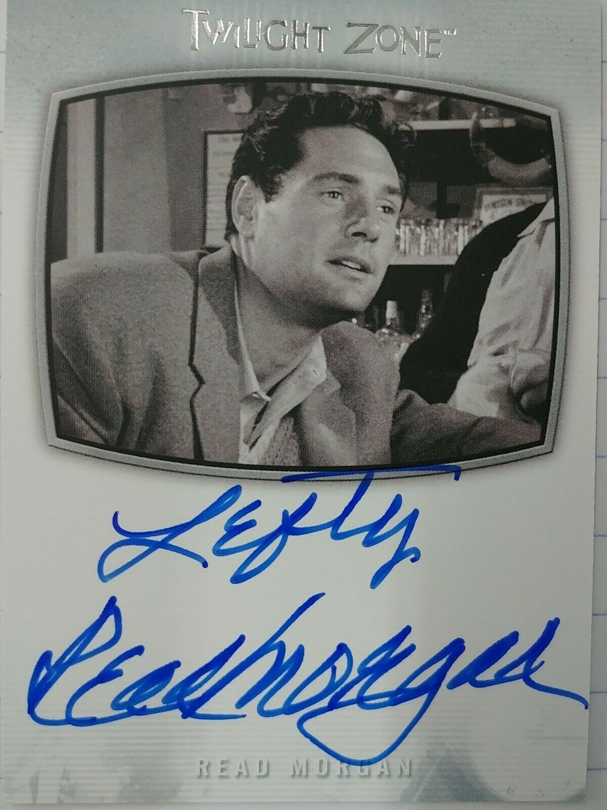 Twilight Zone Season 4 Auto Autograph Card A-70 Don Durant