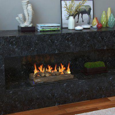 Regal Flame Gas Fireplace Decorative Logs Regal