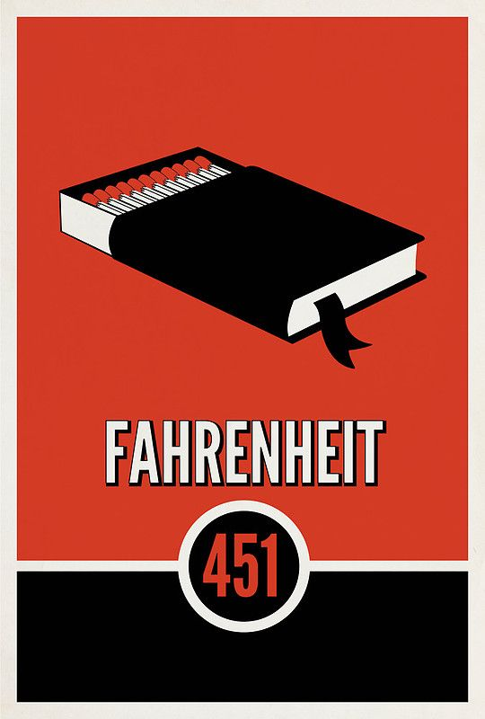 Fahrenheit 451 by Ray Bradbury (Very poetic read, but not my favorite. It drags on a bit at the end, in my opinion.)