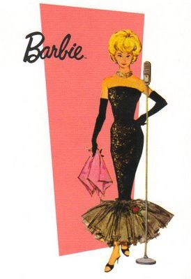 Barbie Barbie Barbie - this one was probably my cousin's from the 50s - but I remember me and Mindy playing with Barbies like this...