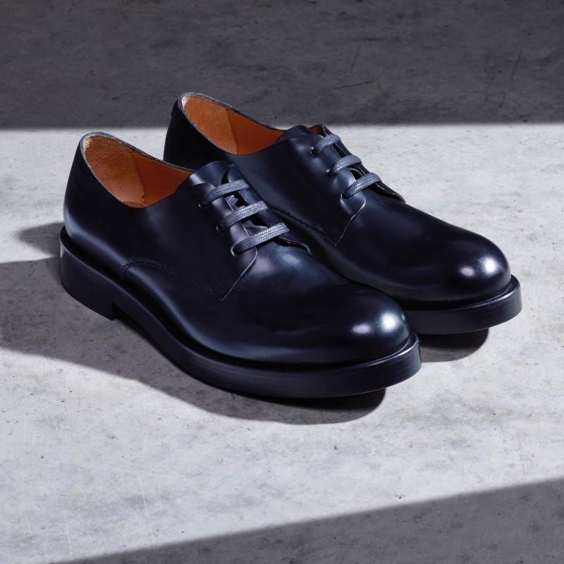 0cf9093efa8 Paul Smith Men s Black Calf Leather  Patton  Derby Shoe