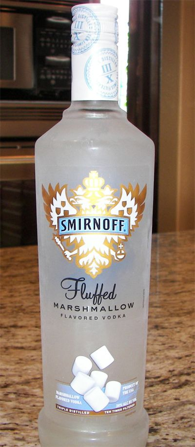 Smirnoff fluffed marshmallow review