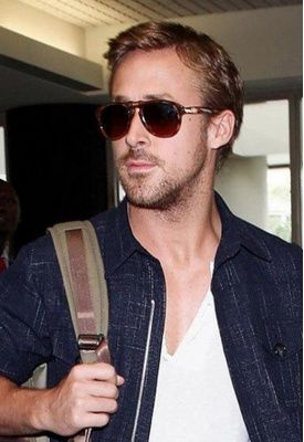 cdb8f02986d Ryan Gosling wears Persol s PO0714 52 Polarized Suprema Foldable Sunglasses