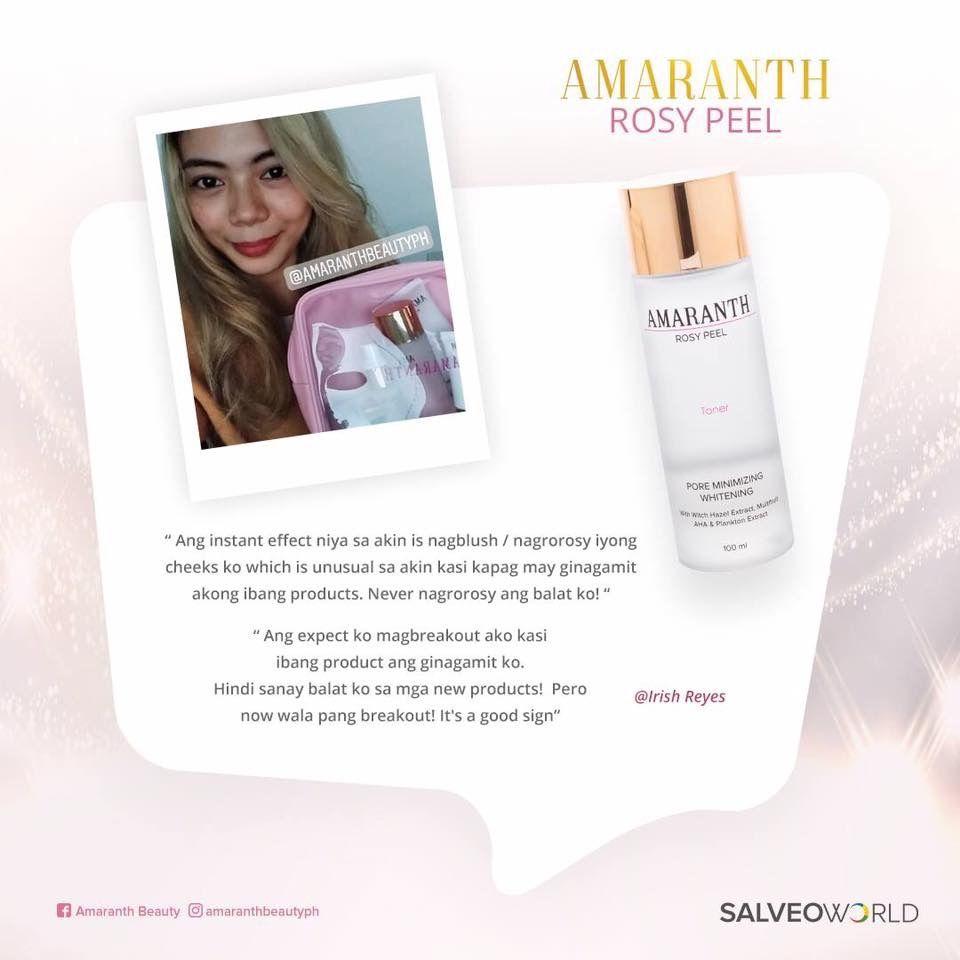 Amaranth Beauty Skin Care Testimonial by Technowise360